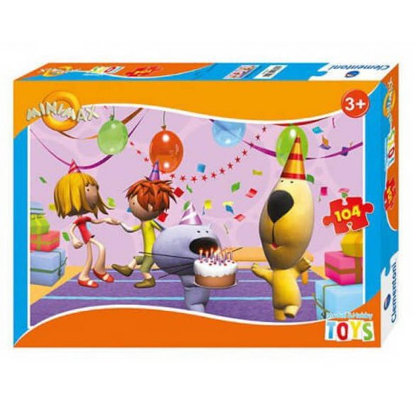 Clementoni 64625 puzzle - Minimax (104 db-os)