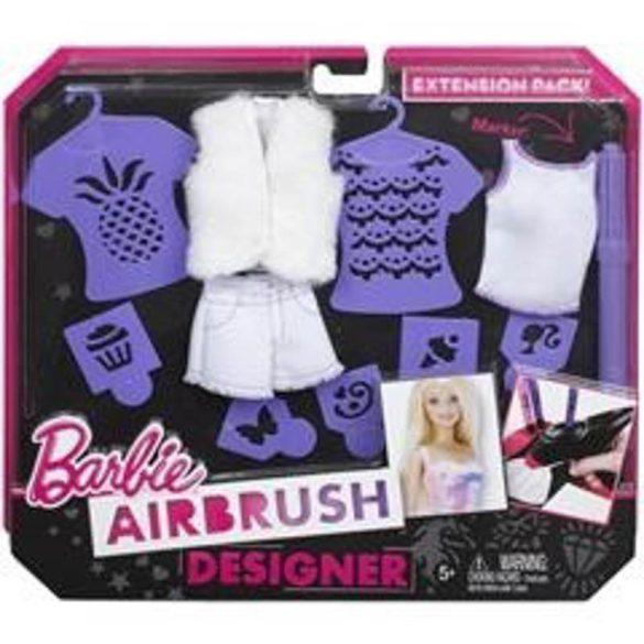 Barbie Festékszóró stúdió kiegészítő készlet - LILA