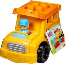Fisher-Price Mega Bloks mini járművek - ISKOLABUSZ
