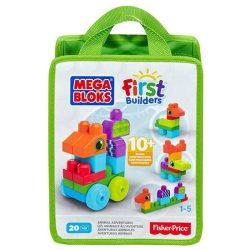 Mega Bloks mini építőzacskók (20 db-os) - ZÖLD