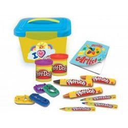 Play-Doh Kis Kreatív Műhelyem Tároló dobozzal gyurmakészlet