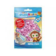 CRAZE Splash Beadys utántöltő csomag - Rózsaszínű, csillogó gyöngy