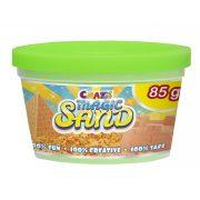 CRAZE Magic Sand homokgyurma - kezdő csomag ZÖLD 85 g