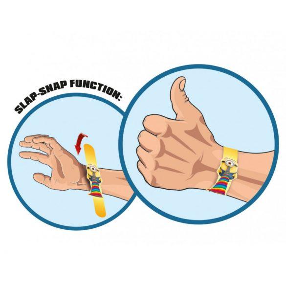 Mini-Slap-Snap-Bands - Csuklóra pattintható karkötő MINYONOK