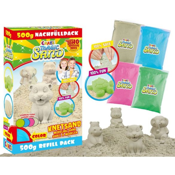 CRAZE Magic Sand ZÖLD homokgyurma
