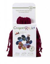 Crayon Rocks Kavicskréta (zsírkréta) - Bársony 16 színű