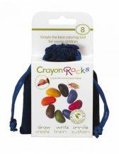 Crayon Rocks Kavicskréta (zsírkréta) - Bársony 8 színű