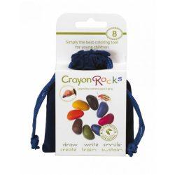 Crayon Rocks Kavicskréta (zsírkréta) - Bársony 8 színû