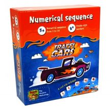 Trafficars - Előzz a számokkal kártyajáték