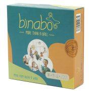 Binabo építőjáték 36 db-os narancssárga készlet