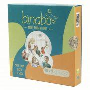 Binabo építőjáték 60 db-os készlet