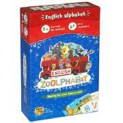 Zoolphabet - kártyajáték angol tanuláshoz