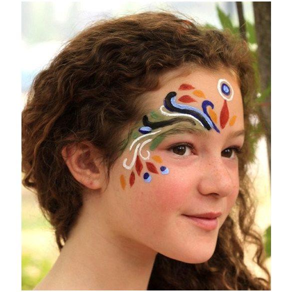 NEP - Természetes arcfesték - 4 színű, mini arcfestő készlet