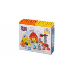 Mega Bloks Junior Builders építődobozok - Építkezés készlet