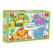 Junior puzzle - A Dzsungel állatai