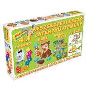 Játszva tanulni - 4 az 1-ben készségfejlesztő játékgyűjtemény 2. (Zöld)