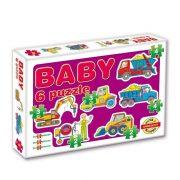 Baby puzzle - Munkagépek