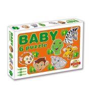 Baby puzzle - Szafari állatok