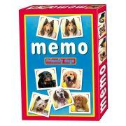 Barátságos kutyák memóriajáték