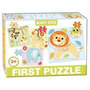 Állatkert bébi állatai 4 az 1-ben baby puzzle