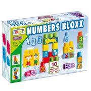 Maxi Blocks Figurás számolókockás építõjáték (34 db)