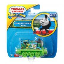 Fisher-Price Thomas Take-n-Play egyes kicsi mozdony - DZSUNGEL KALAND