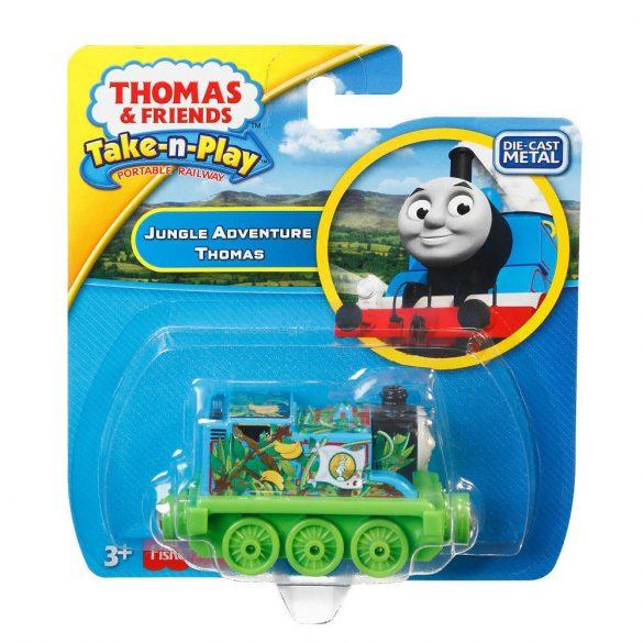 Thomas és barátai Take-n-Play Thomas fém dzsungelmozdony