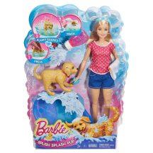 Barbie Pancsoló Kutyus játékszett