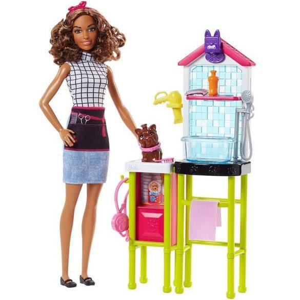 Barbie Karrierbabák - Kutyakozmetikus baba
