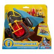 Imaginext Kalózos játékszett - Nemo kapitány és Stingray