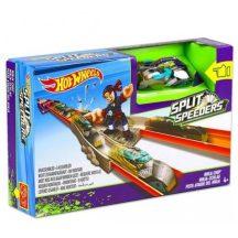 Hot Wheels Split Speeders - Nindzsa-csapás kilövő játékszett