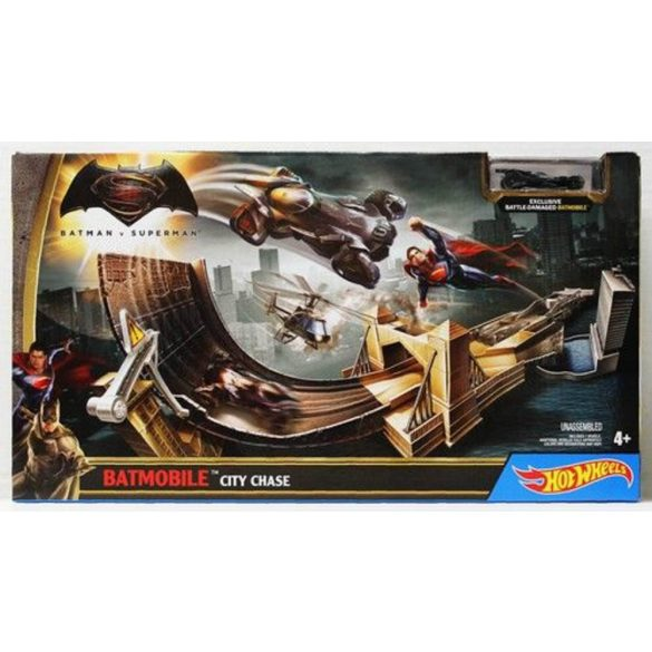 Hot Wheels DC Batman vs. Superman versenypálya