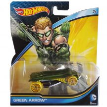 Hot Wheels DC Batman v Superman - Dawn of Justice kisautók:GREEN ARROW
