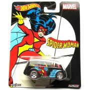 Hot Wheels MARVEL kisautók - QUICK D-LIVERY (Spider-Woman)