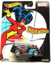 Hot Wheels MARVEL kisautók - QUICK D-LIVERY (Spider-Woman)