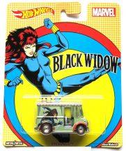Hot Wheels MARVEL kisautók - BREAD BOX (Black Widow)