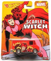 Hot Wheels MARVEL kisautók - COMBAT MEDIC (Scarlet Witch)