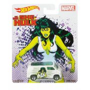Hot Wheels MARVEL kisautók - CUSTOM '77 DODGE VAN (The Savage She-Hulk)