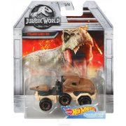 Hot Wheels Jurassic World kisautók - Tyrannosaurus Rex 1/5