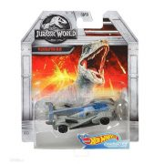 Hot Wheels Jurassic World kisautók - Velociraptor 'Kék' 2/5