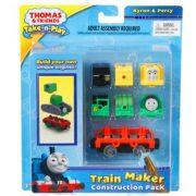 Thomas és barátai Take-n-Play mozdonygyár készlet - Byron és Percy mozdony