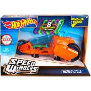 Hot Wheels Speed Winders motorok - TWISTED CYCLE narancssárga