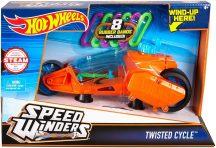 Hot Wheels Speed Winders motorok - TWISTED CYCLE narancssárga