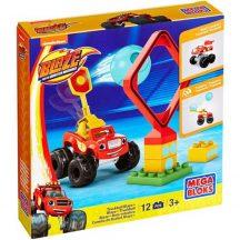 Fisher-Price Mega Bloks Láng és a Szuperverdák: Truck Ball Blaze 12 db-os játékszett