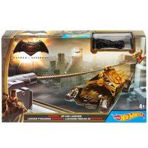 Hot Wheels DC Batman vs. Superman kisautó - Batman Zip-Line Launcher