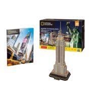 CubicFun DS0977 Nat. Geo 3D puzzle - New York, Empire State Building fotóalbummal (66 db)
