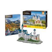 CubicFun DS0990 Nat. Geo 3D puzzle - Németország, Neuschwanstein kastély fotóalbummal (121 db)