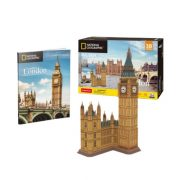 CubicFun DS0992 Nat. Geo 3D puzzle - London, Big Ben fotóalbummal (94 db)