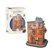 CubicFun DS1007 3D puzzle Harry Potter - Weasley Varázsvállalat (62 db)