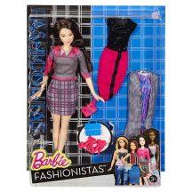 Barbie Fashionistas babák ruhákkal és kiegészítőkkel 36. - CHIC WITH A WINK